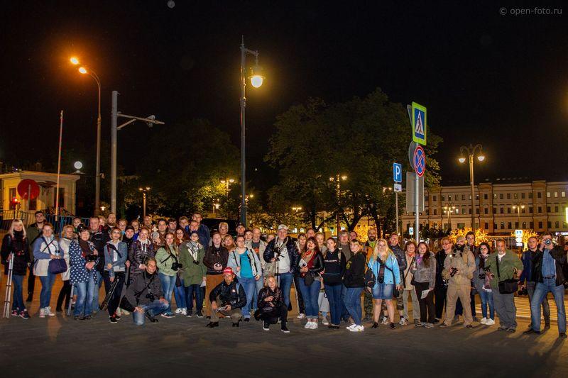 Московская фотоночь 2018. Участники фотопрогулки