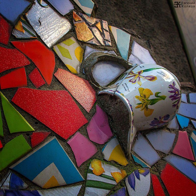 Цвет в городской среде. Фото: Евгений Колков