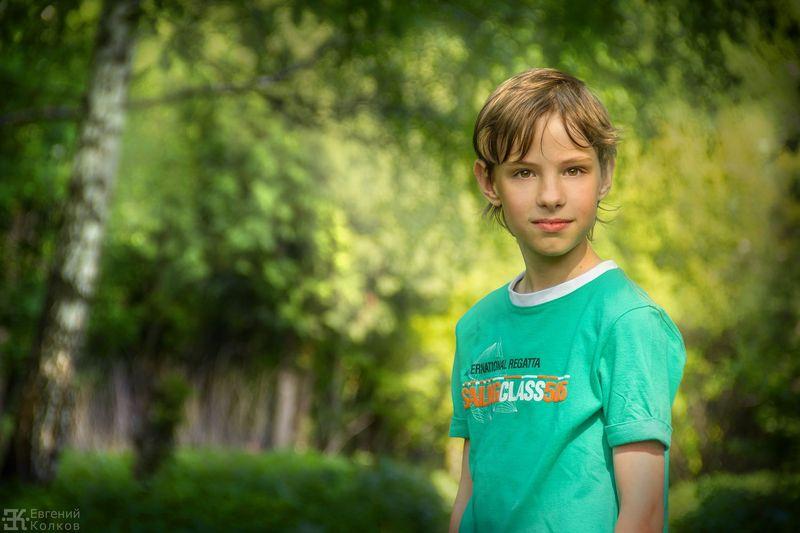 Портрет на природе. Фото: Евгений Колков