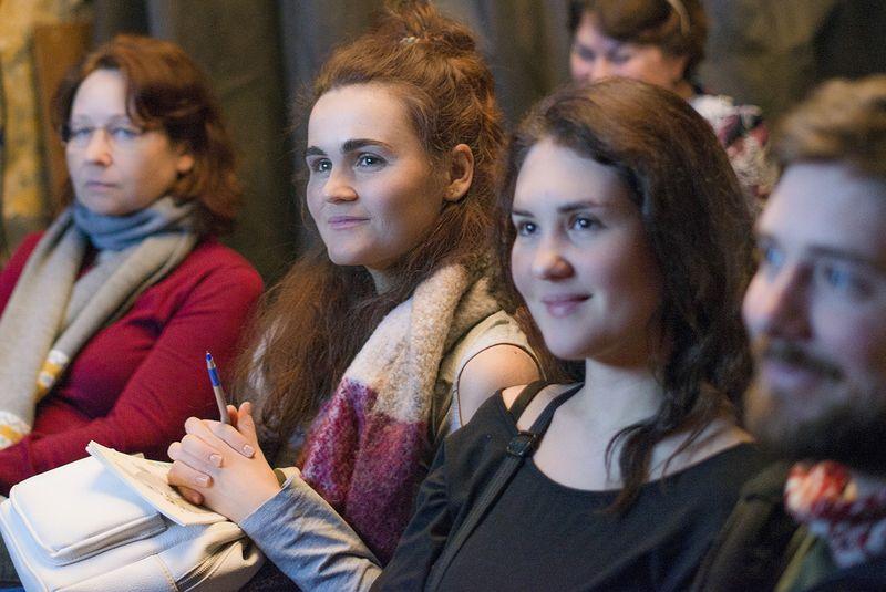 На занятии в Школе фотографии OPEN FOTO. Фото: Анна Орлова