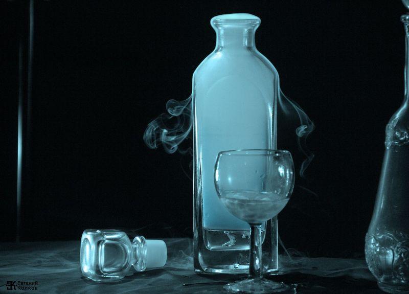 Съемка сухого льда. Фото: Евгений Колков
