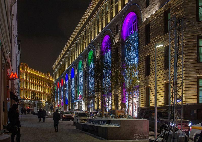 Праздничная Москва. Фото: Евгений Колков