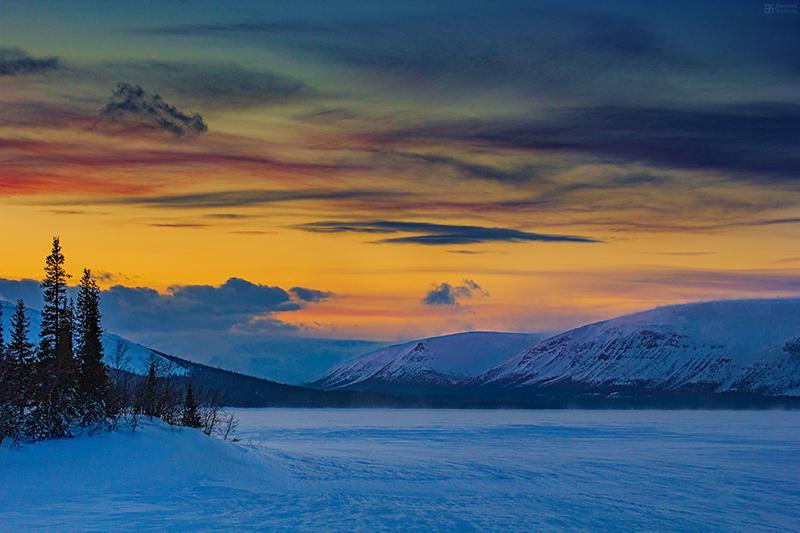 Съемка зимнего пейзажа. Фото: Евгений Колков
