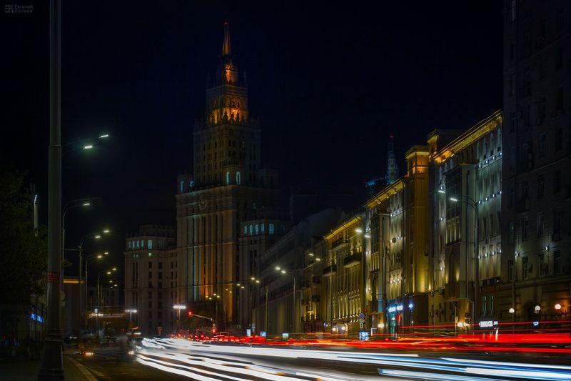 Съемка на длинных выдержках. Фото: Евгений Колков