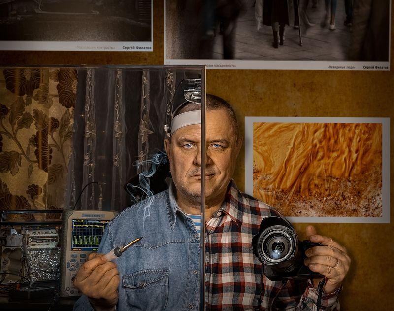 Сергей Филатов. Автопортрет