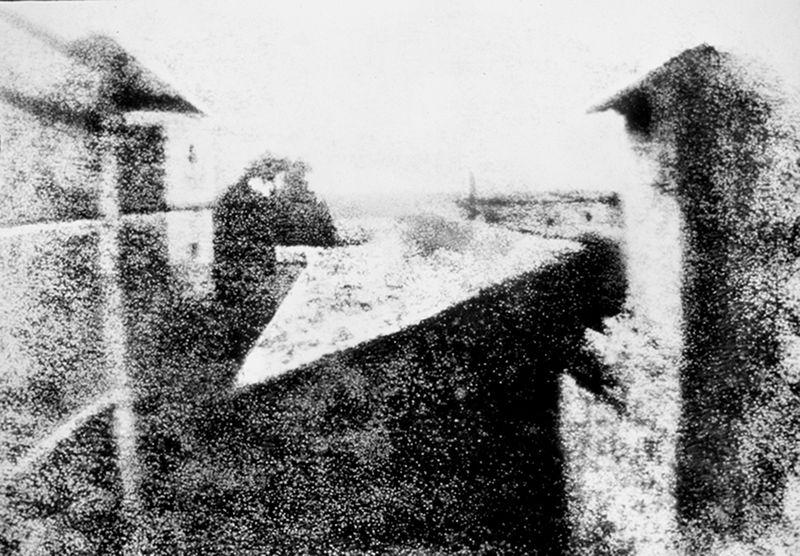 Жозеф Нисефор Ньепс. Самая первая фотография. 1826 год