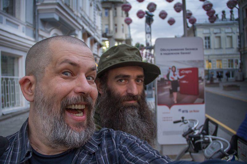 Съемка в городе. Фото: Евгений Колков