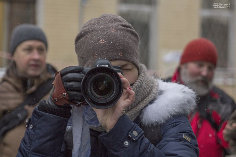 Фотопрогулка Школы фотографии OPEN FOTO. Фото: Евгений Колков