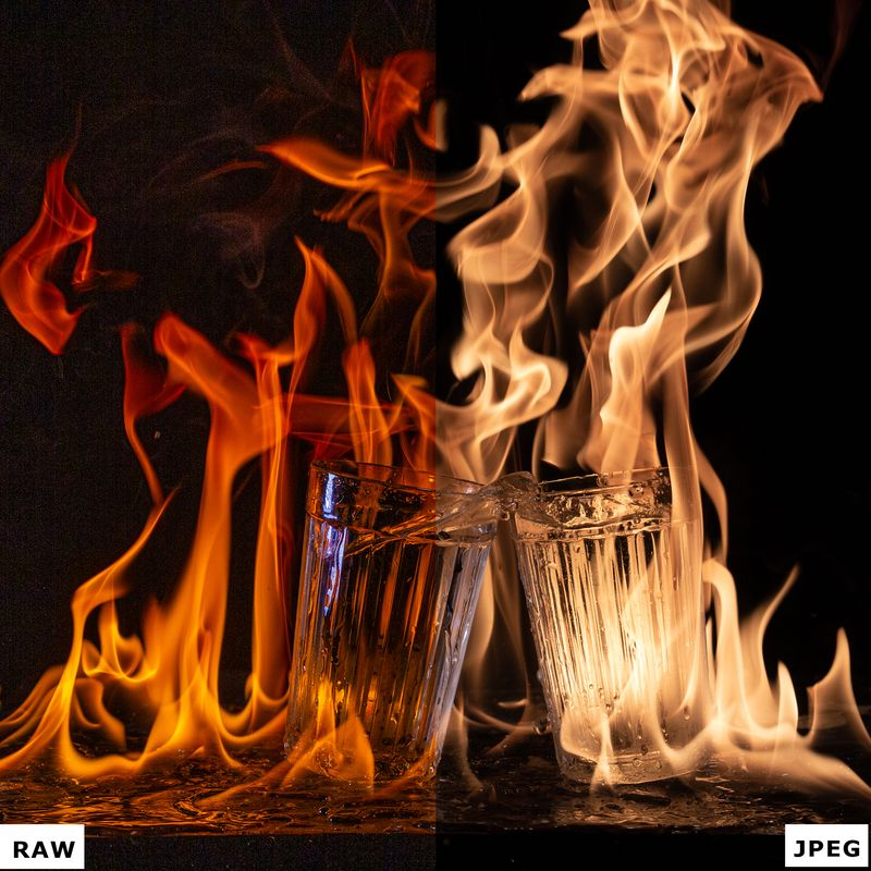 RAW vs JPEG. Фото: Евгений Колков