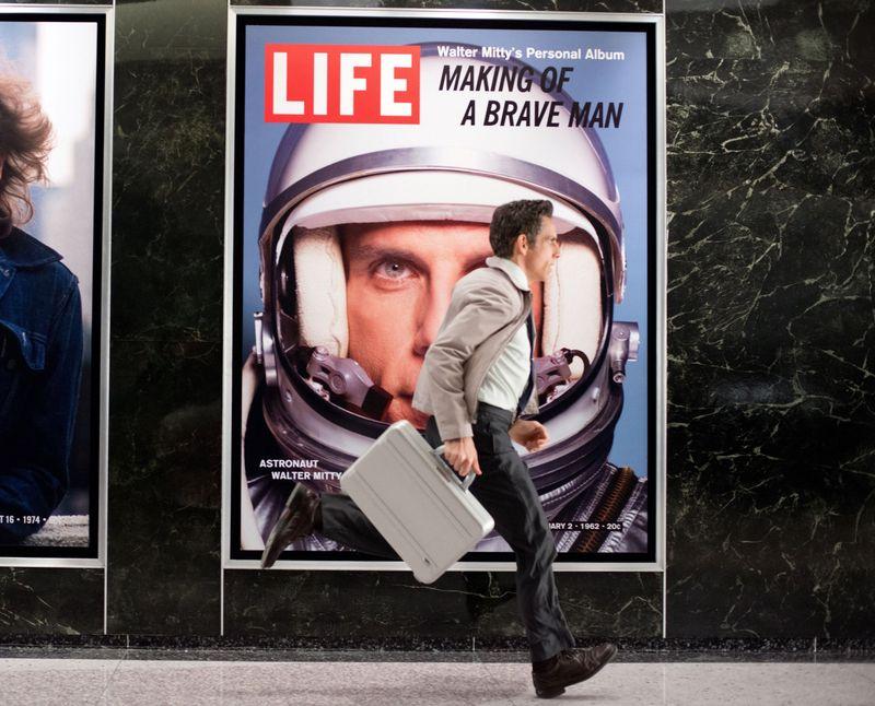 Невероятная жизнь Уолтера Митти. Кадр из фильма