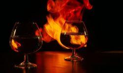 Съемка огня. Фото: Лариса Шандарова