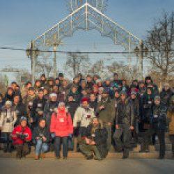 Участники фотопрогулки Школы фотографии OPEN FOTO по московским бульварам